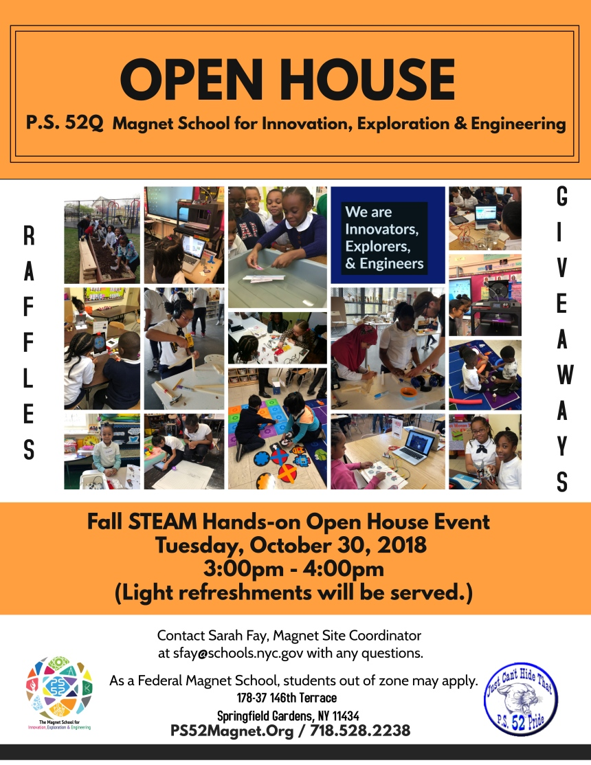October 2018 Open House