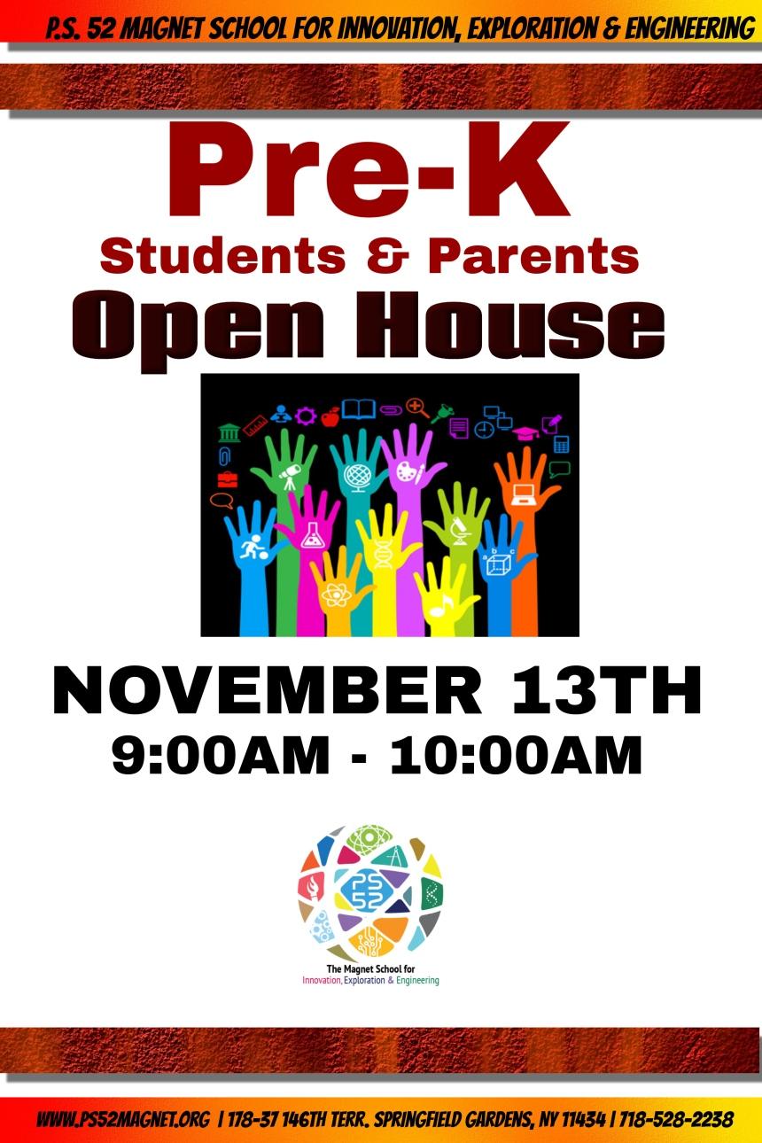 November Open House